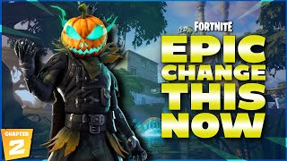 EPIC NEED TO FIX THIS NOW - FORTNITE CHAPTER 2 - use code TANKSGAMINGNATION