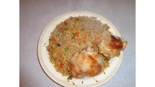 How To Prepare Fried Rice (Ghana style)