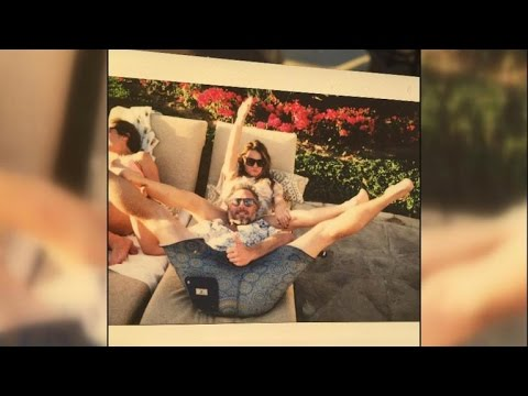 Jessica Simpson's Mom Tina Posts Sassy Photo of Eric Johnson's Head Between Her Legs