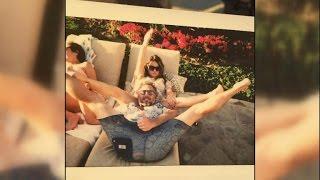 Jessica Simpson's Mom Tina Posts Sassy Photo of Eric Johnson's Head Between Her Legs