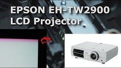 Epson EH-TW2900 TW3200 Beamer rot lila grüner Streifen Bildfehler linse Reparieren Anleitung