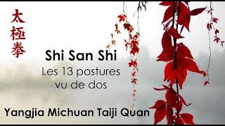 Shi San Shi vu de dos