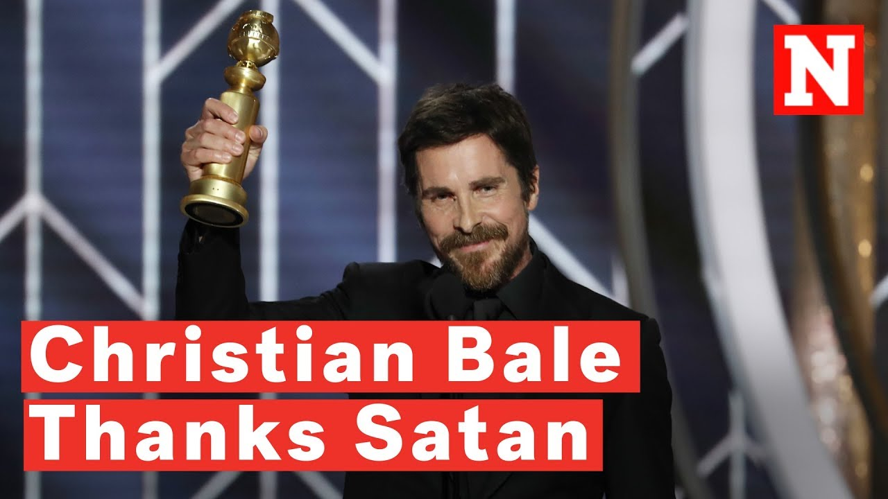 Christian Bale Thanks Satan For Giving Him 'Inspiration' On How To Play Dick Cheney - YouTube