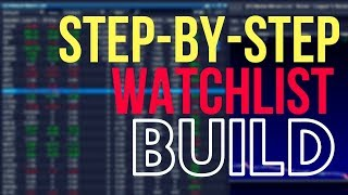 How To Make A Penny Stock Watchlist (Step-By-Step)