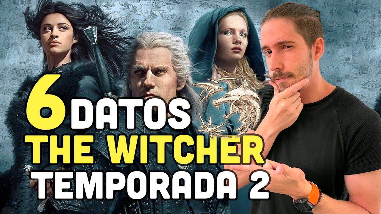 THE WITCHER TEMPORADA 2 Todo sobre la serie de NETFLIX: Nuevos actores, historia y fecha de estreno