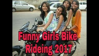 Best bike stunt on girls 2017 | funny video bike stunt 2017