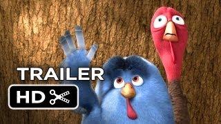 Free Birds TRAILER 2 (2013) - Amy Poehler, Owen Wilson Animated Movie HD