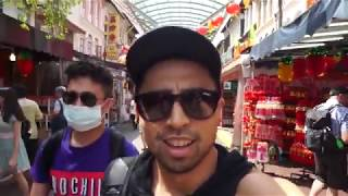 GigBoiZ in Singapore Day 3 & 4  - Little India & Chinatown