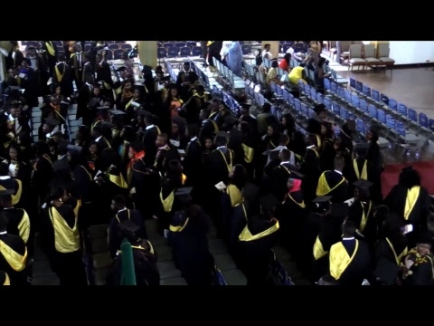 UNIVERSITY OF GHANA Nov 2017 CONGREGATION - Great Hall : Fri Afternoon Session