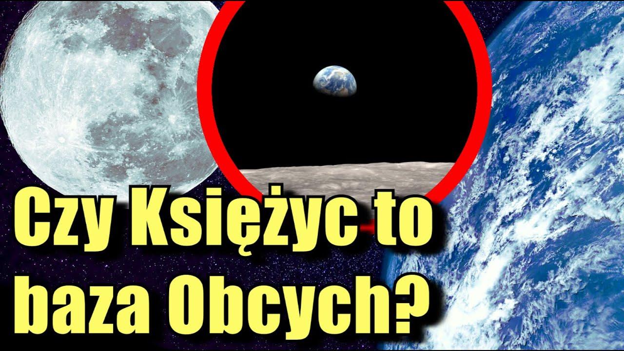 Księżyc może być sztucznym tworem. Oto 5 dowodów dlaczego