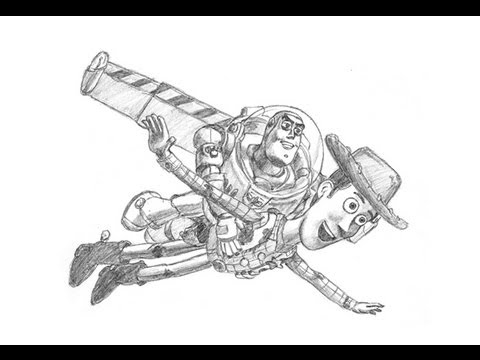 hqdefault jpgWoody And Buzz Drawing
