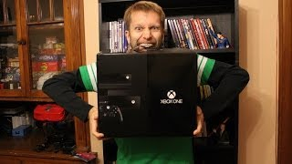 Microsoft Xbox One unboxing, setup & system config video