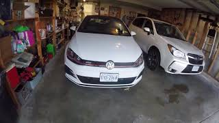 2018 VW GTI SE Ep. 82: Blacking Out Front PP Grill Emblem
