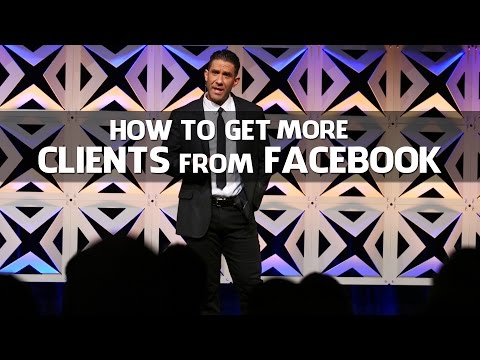 How To Get Personal Training Clients From Facebook from YouTube · High Definition · Duration:  9 minutes 1 seconds  · 35,000+ views · uploaded on 4/13/2015 · uploaded by Bedros Keuilian