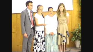 Gott wird dich tragen Jugendsabbat 2013