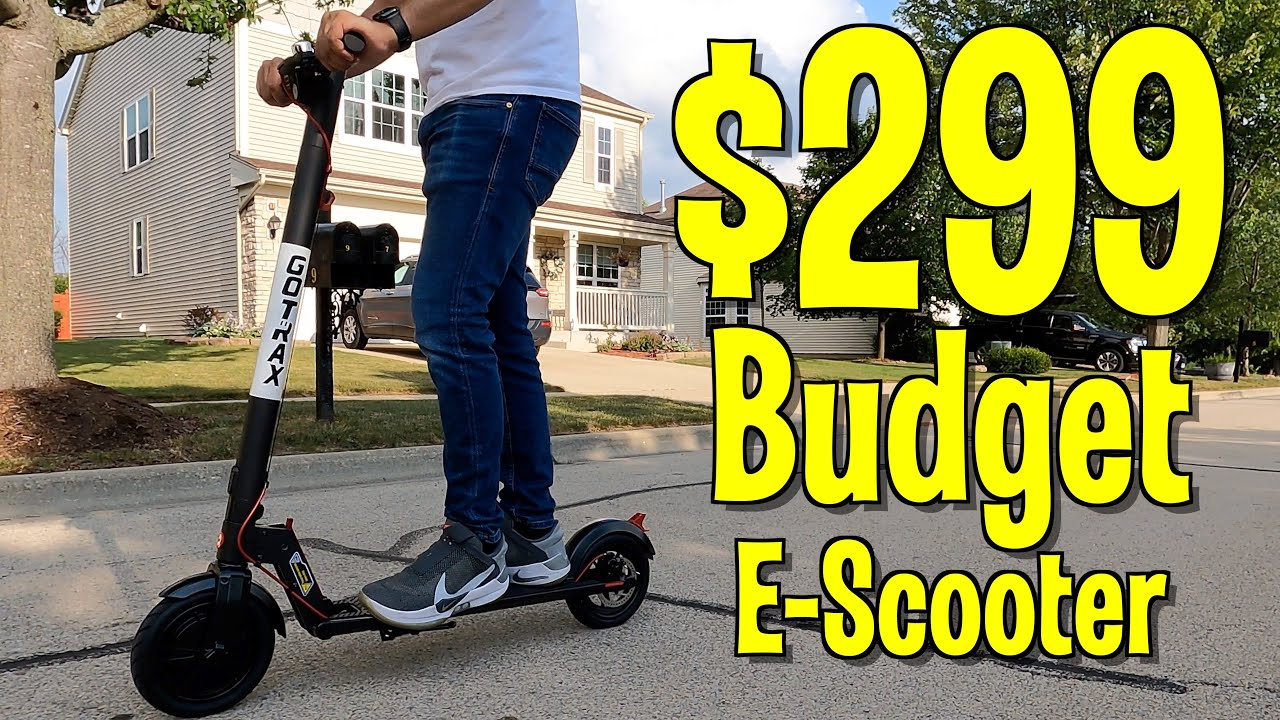 The $299 Budget E-Scooter - GOTRAX Rival Electric Scooter