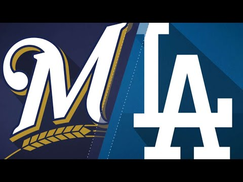Cain propels Brewers to 1-0 win over Dodgers: 7/31/18