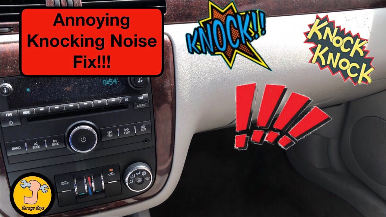 Chevrolet Impala Knocking Noise Fix