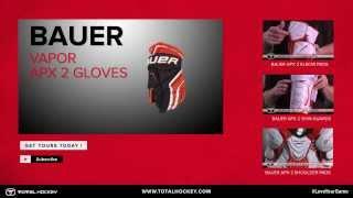 bauer vapor apx 2 gloves