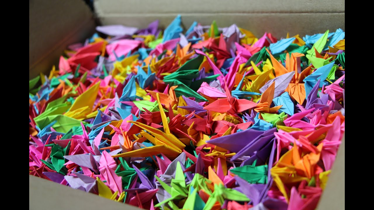 thousand paper cranes Sadako and the thousand paper cranes assessment a: eleanor coerr uses symbolism wisely to engage us, the reader to think a certain way sadako is an.