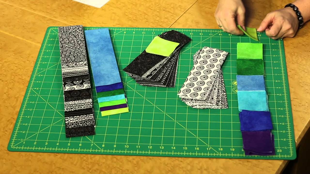 Quilting Quickly Cerulean Contemporary Quilt Pattern Youtube