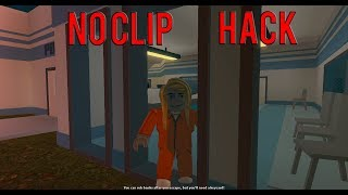 HOW TO NOCLIP HACK ON ROBLOX| Roblox Jailbreak