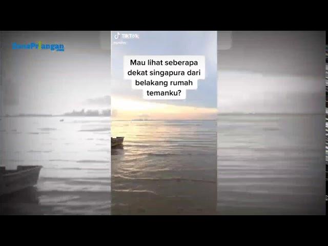 Ini Video TikTok yang Viral Lihat Singapura dari Belakang Rumah, Terlihat Bangunan Marina Bay Sands
