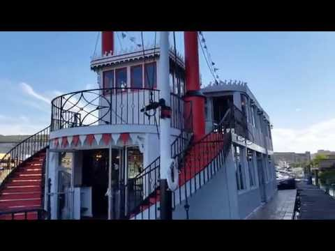 """92' Paddlewheeler """"The Showboat"""" Featured  by Robert Christopher Yacht Sales"""