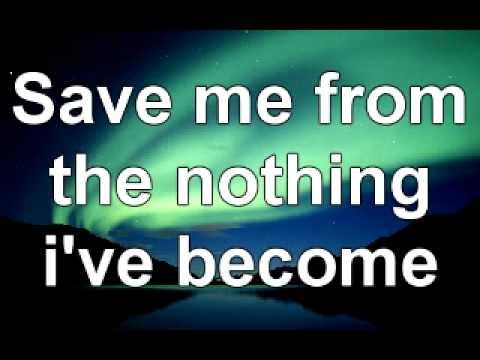 Evanescence- Bring me back to life lyrics