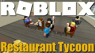 Roblox - Feeding Some Hungry People in Restaurant Tycoon!