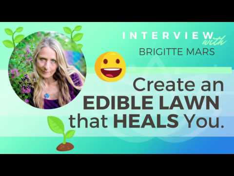 Ep 128 Sivana Podcast: Create An Edible Lawn That Heals You w/ Brigitte Mars | Yoga Podcast