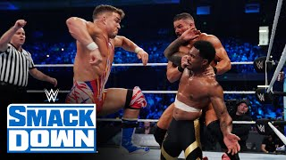 The Street Profits & The New Day vs. Alpha Academy & Ziggler & Roode: SmackDown, Oct. 1,