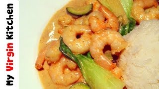 Red Thai Prawn Curry - Myvirginkitchen