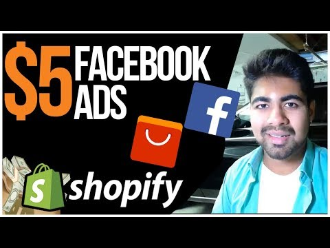 $5 Facebook Ads For Shopify In 2019 (Do They Still Work?) thumbnail