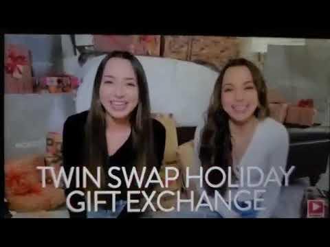 #MakeMerry#twinswap#gifts  HUGE Twins Swap Gift Exchange – Merrell Twins