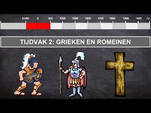 Grieken En Romeinen - Video Tijdvak 2 - Hetleerkanaal.com