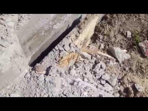 Новый фундамент из бетона М300