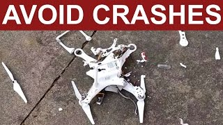 DJI Phantom | How to avoid crashes and fly aways | TOP 13 HINTS