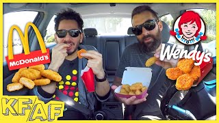 McDonald's Chicken McNuggets vs. Wendy's Spicy Nuggets - KFAF