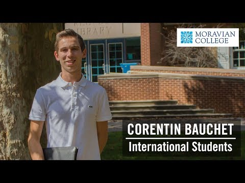 Corentin Bauchet '20 | International Students at Moravian College