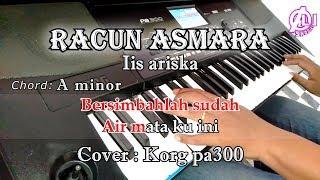 KARAOKE DAN LIRIK CHORD - RACUN ASMARA (COVER) KORG Pa300