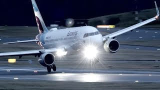 Severe turbulence before dawn: go arounds