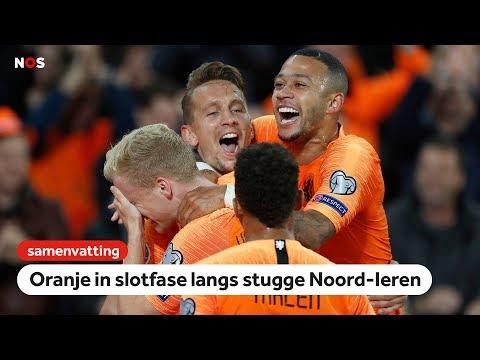 Oranje komt met de schrik vrij | samenvatting Nederland - Noord-Ierland | EK-kwalificatie 2020