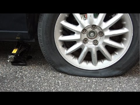 How To Change A Flat Tire Like A Boss