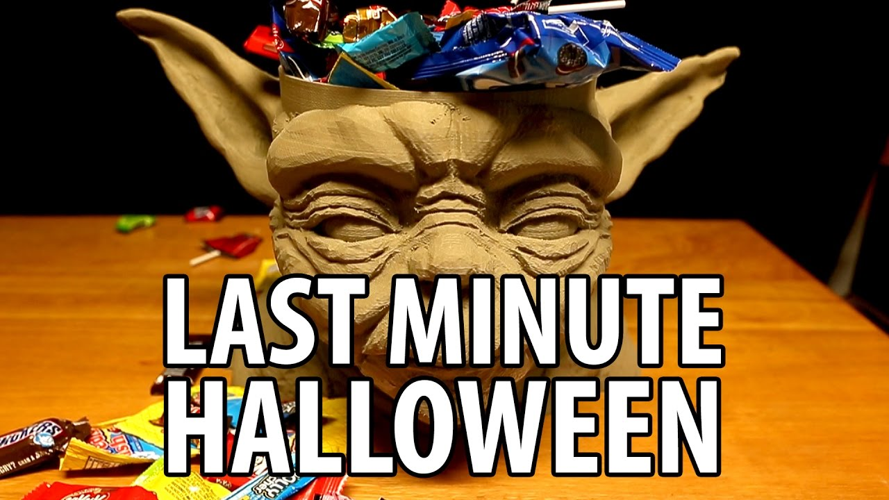 Last Minute Halloween 3D Print Ideas