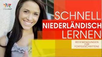 Niederländisch [Holländisch] lernen für Fortgeschrittene! Wichtige Sätze + Einfach & Schnell Lernen!