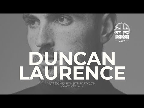 OIKOTIMES.com 🇳🇱 DUNCAN LAURENCE INTERVIEW | LONDON EUROVISION PARTY 2019