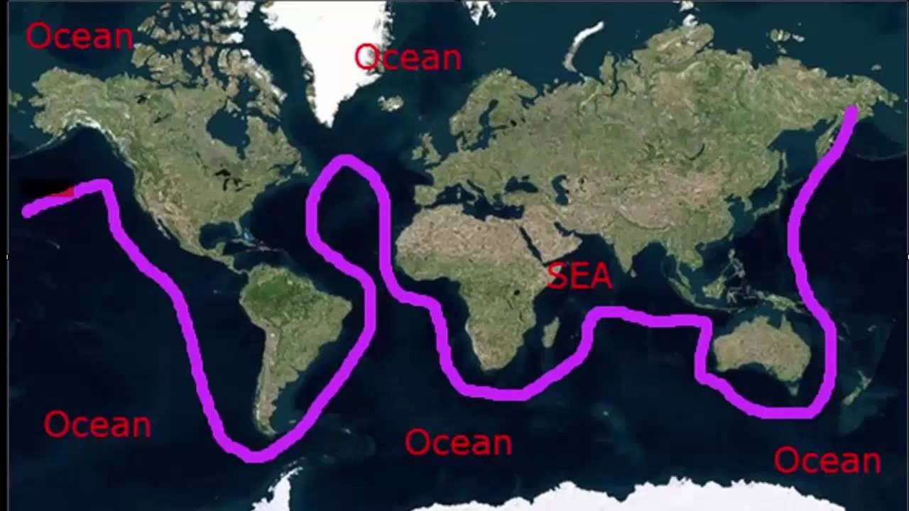 Ocean vs sea difference between a sea and an ocean youtube ocean vs sea difference between a sea and an ocean publicscrutiny Images