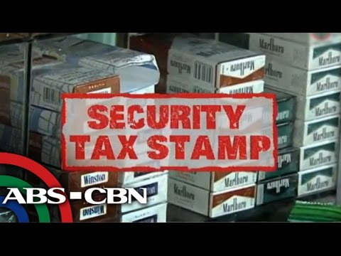 BIR Implements Tax Stamp On Cigarette Packs