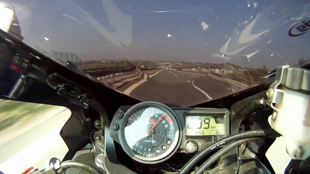 Suzuki GSX-R 750 K5 - Highspeed 299km/h